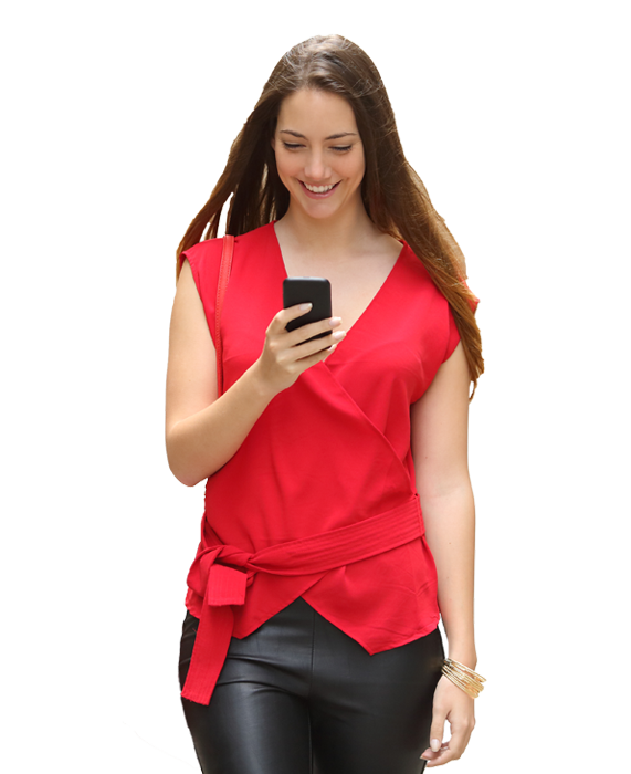 referral-woman-red